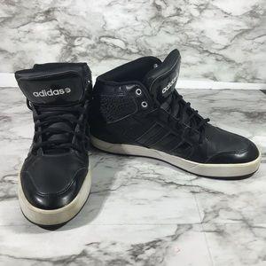 Adiddas Black Leopard Neo Hight Top Sneakers /11